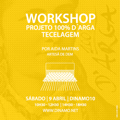 workshop de tecelagem