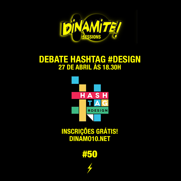 INTEGRAMOS O DEBATE #HASHTAG DESIGN